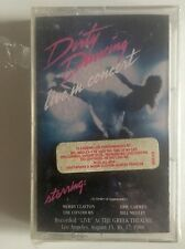 DIRTY DANCING live in concert CASSETTE SEALED 1989.  Rca 9660-4-R