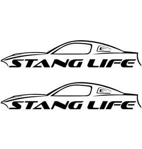 Details about Ford Mustang STANG Vinyl Decal Sticker