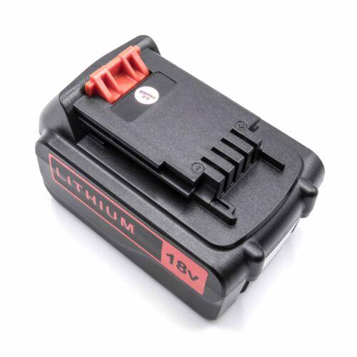 bl1518 bl4018 Pile Batterie 4000 mAh pour Black /& Decker bl1318 bl2018