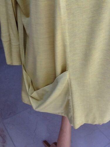 Moutarde Cardigan Taille Pour Soie Soie En Jaeger Medium Veste PxCq5w5B
