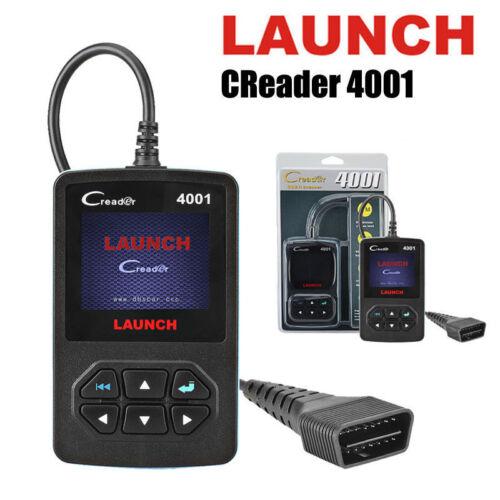 Launch CR4001 Creader X431 Diagnostic EOBD OBDII Scanner Fault Code Reader Tool