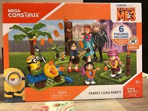 Mega Construx Despicable Me 3 Family Luau Party Building Set 123 pieces