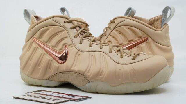 separation shoes 6d8c2 bbbdf NIKE AIR FOAMPOSITE PRO USED SZ 9.5 ALL STAR VACHETTA TAN ROSE GOLD 920377  200