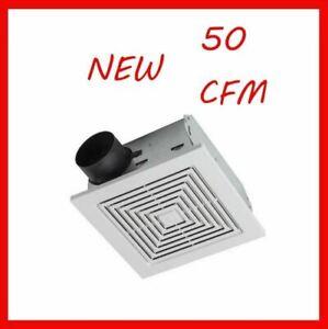 50 Cfm Broan Ventilation Fan Bathroom Exhaust Celing Vent Home Quiet Easy New 782298961200 Ebay