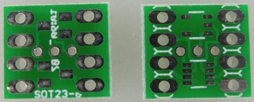 30 Adaptateur de carte pour 2 xsot 23-3, 1 xsot 23-5, 1 xsot 23-8 Sot-23 Adaptateur