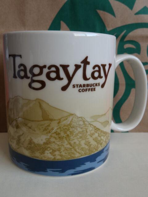 NEW Starbucks TAGAYTAY Philippines city Icon 16 oz mug - NO SKU