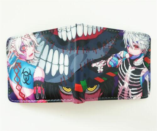 Anime Tokyo Ghoul Mann Geldbörse Geldbeutel Portmonee Brieftasche