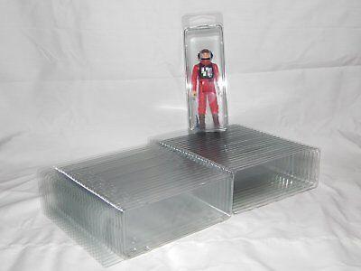 4 Figurine star wars BLISTER Case Lot de protection petit empilable cas