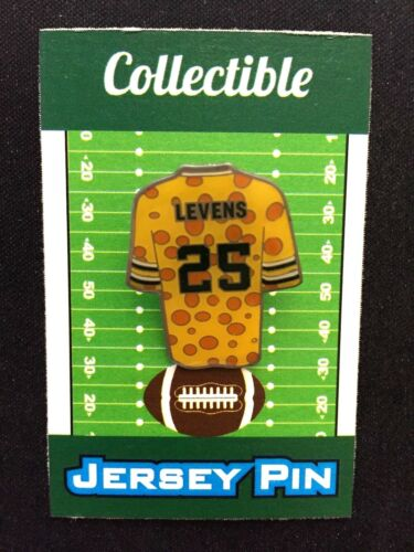 Verte Bay Packers Dorsey Levens Maillot Revers Broche- #1 Collectionné