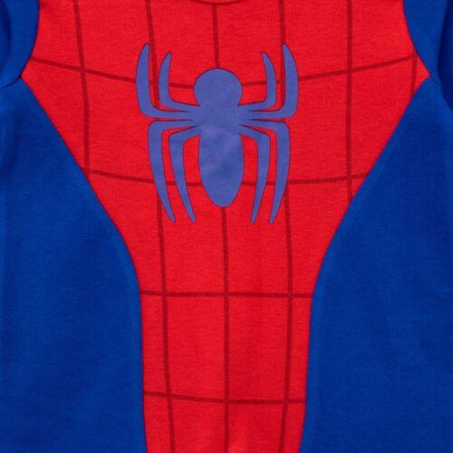 Baby Marvel Spiderman Sleepsuit /& HatBaby Boys Spider-Man Babygrow and Hat