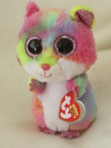 TY BEANIE BABIES BOOS RODNEY HAMSTER PLUSH SOFT TOY NEW WITH TAGS