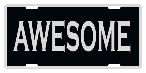 AWESOME Custom License Plate Emblem FUNNY Version