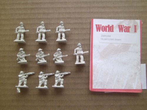 1//76 20mm scale  Mini Figs WWI  Volunteers Boers