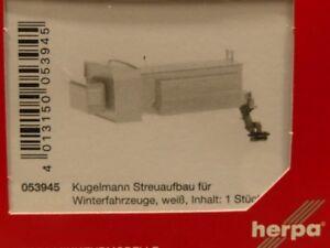 """1:87 Herpa  Zubehör /"""" Kugelmann Streuaufbau/"""" Neu"""