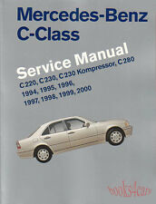 MERCEDES C-CLASS SHOP MANUAL SERVICE REPAIR BOOK ROBERT BENTLEY C220-C280 94-00