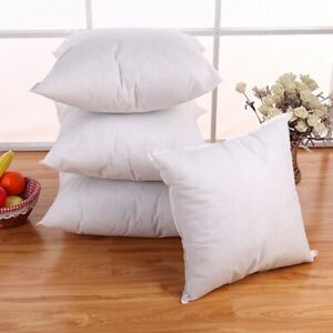 Soft-Cotton-Standard-Pillow-Down-Feather-Cushion-Core-Pillow-Home-Decor-NA