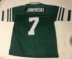 74a11710e9d Image is loading Ron-Jaworski-Eagles-Jersey-Stitched-Throwback-Green -Mitchell-