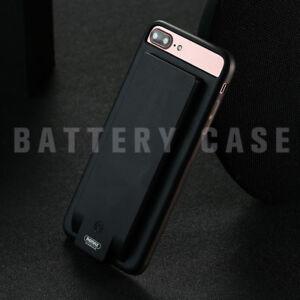 Dettagli su BATTERY CASE REMAX 4800 mAh CUSTODIA RICARICABILE PER IPHONE 7/8 PLUS POWERBANK
