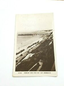 1930-VTG-RPPC-Undercliff-Dorset-Bournemouth-East-Cliff-Bournemouth-Post-Card