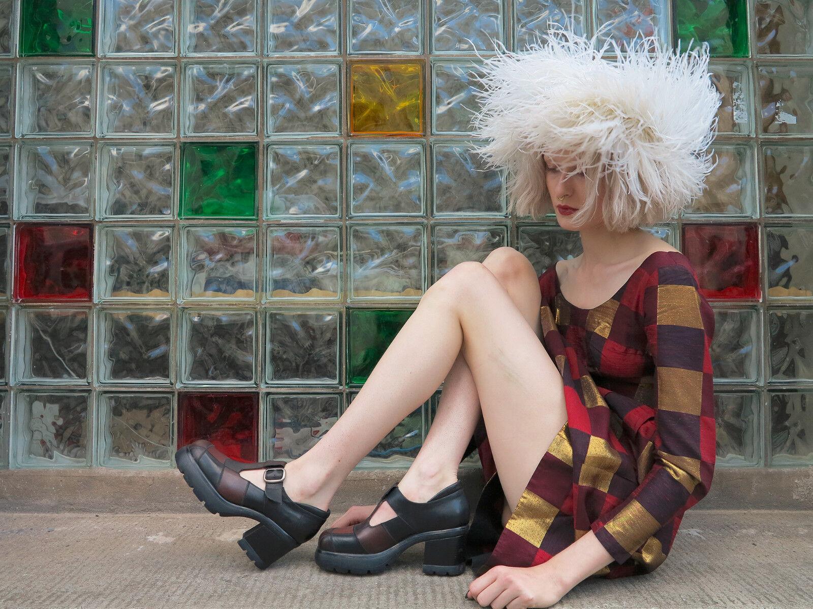 Andiamo plataforma zapatos zapato zapato zapato bajo mocasines talla 41 nos 90er True vintage 90s zapatos  en venta en línea