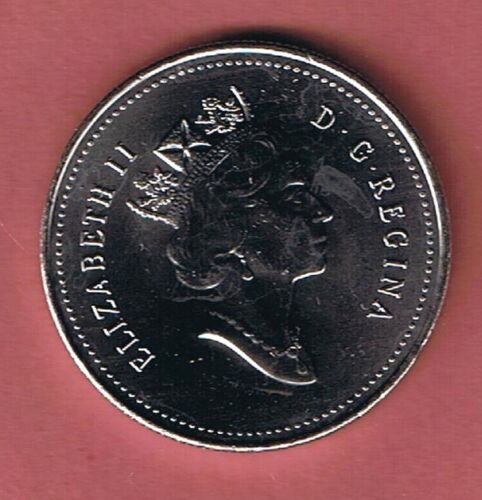 1995 CANADA  HALF DOLLAR $1 FIFTY CENT 50¢ PIECE COIN CANADIAN FROM MINT ROLL