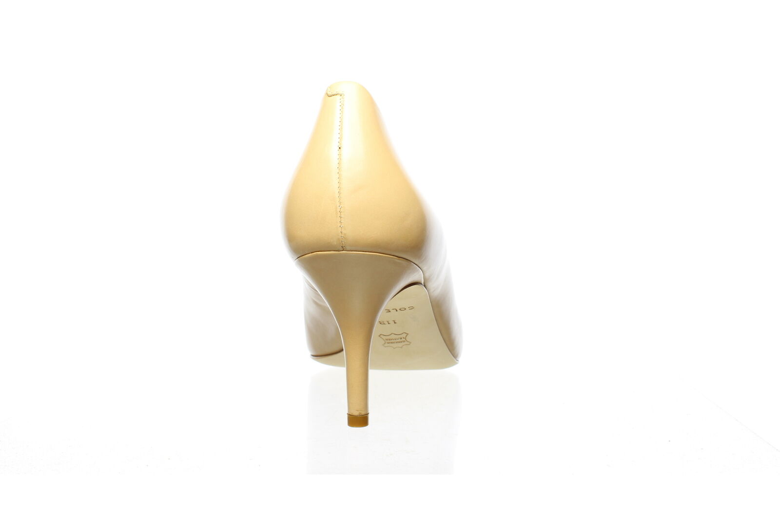 Cole Haan Womens Vesta Nude Leather Pumps Size 8.… - image 3