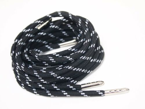 "55/"" Rope Round Shoe Laces Boot Walking sport Outdoor Hiking Shoestrings sneaker"