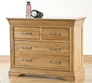 Image Is Loading Toulon Solid Oak Bedroom Furniture 2 Over