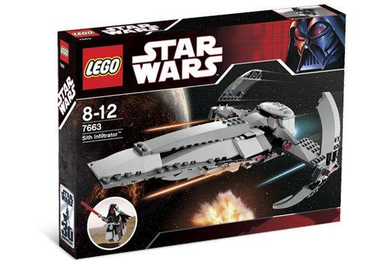 Tout  Nouveau Lego Star Wars Sith Infiltrator 7663  Style classique