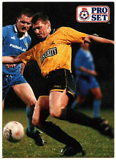 Darren Davis Maidstone Unidos #445 Pro Set Fútbol 1991-2 tarjeta de comercio (C364)