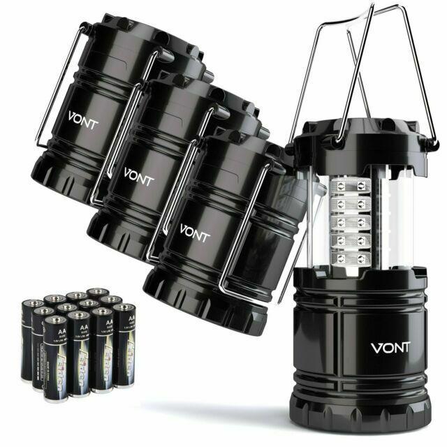 Vont 4 Pack LED Camping Lantern, LED Lantern, Suitable for S