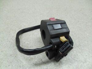 03-08 Buell XB12S XB9 S R X 1125R RIGHT HANDLEBAR CONTROL ON SWITCH VINN0158.TA