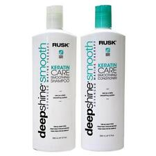 Rusk Deepshine  Smooth Keratin Care Smoothing Shampoo Conditioner 12 oz