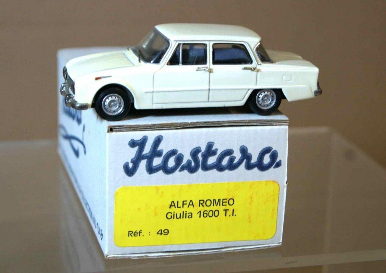 Hostaro 49 Alfa Romeo Giulia T1 biancao Ar