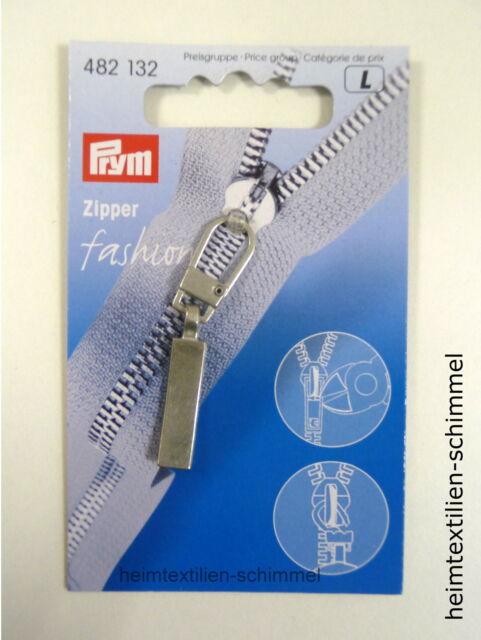 Prym Reißverschluß Zipper Ring Classic mattsilber  482132
