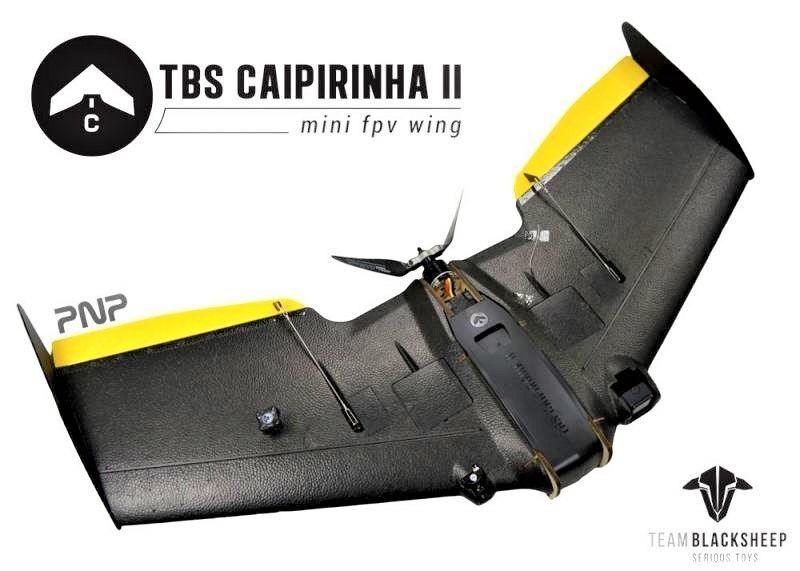 Equipo Negrosheep TBS caipirinha 2 (PNP) Mini FPV Vuelo Ala