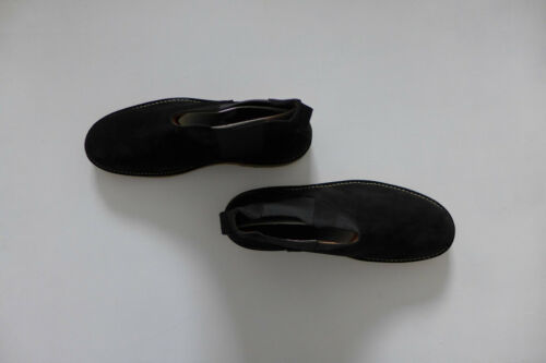 New with Box sizes UK9 /& UK11 Folk Brandon Black Suede Chelsea Boot
