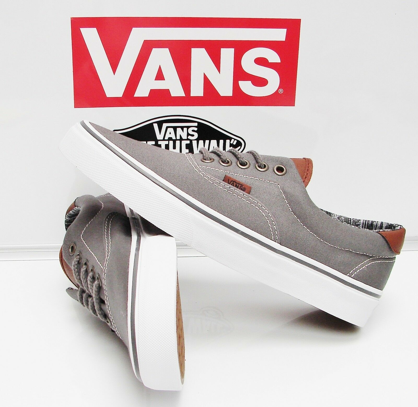 Vans Era 59 (C&L)Pewter/Italian Weave VN-0A3458LW9 Men's Size: 8