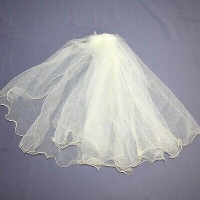 Braut Schleier Mit Kamm Feststehend Haarschmuck Hochzeit Tüll Topfschmuck Weiß