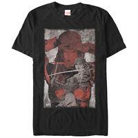 Marvel Elektra Blade Mens Graphic T Shirt