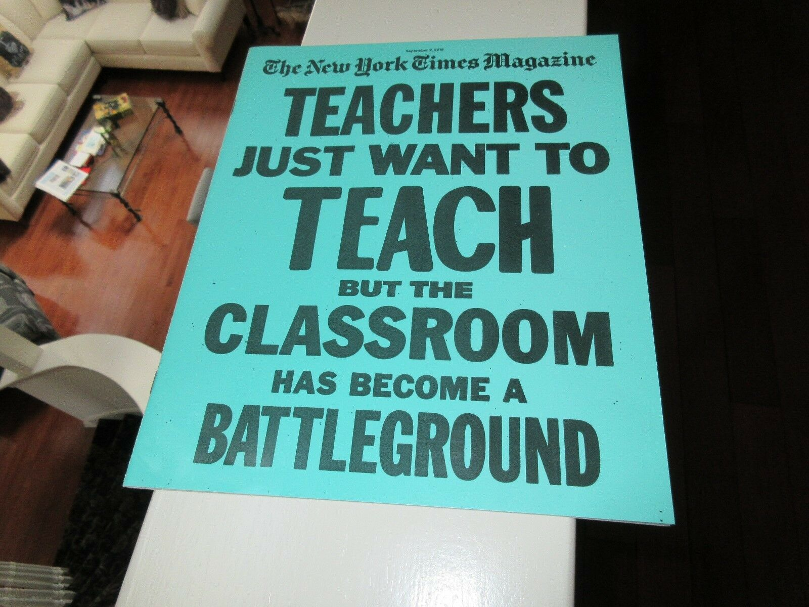 Teachers Just Want To Teach , The NY Times Magazine , S