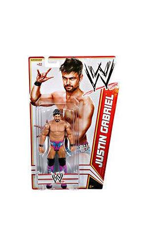 Mattel WWE Basic Series 19 Justin Gabriel () Wrestling Action Figure