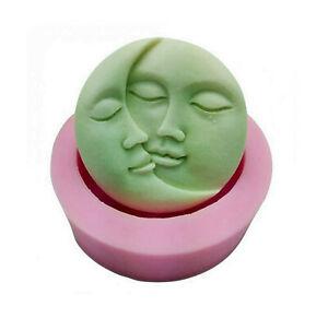 Sun-and-Moon-Face-Silicone-Mold-chocolate-mold-candle-mold-Soap-Mold-DIY-Han