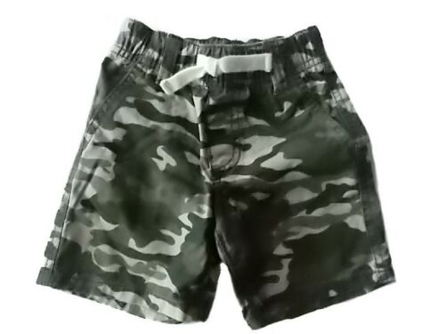 NWT Boy/'s Gymboree Desert Explorer green camouflage shorts ~ 12-18 months 2T