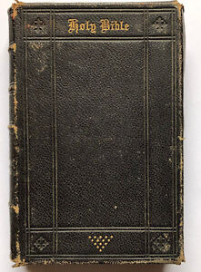 The-Holy-Bible-Charles-Couturier-and-Sons-Londres-1865-avec-6-cartes
