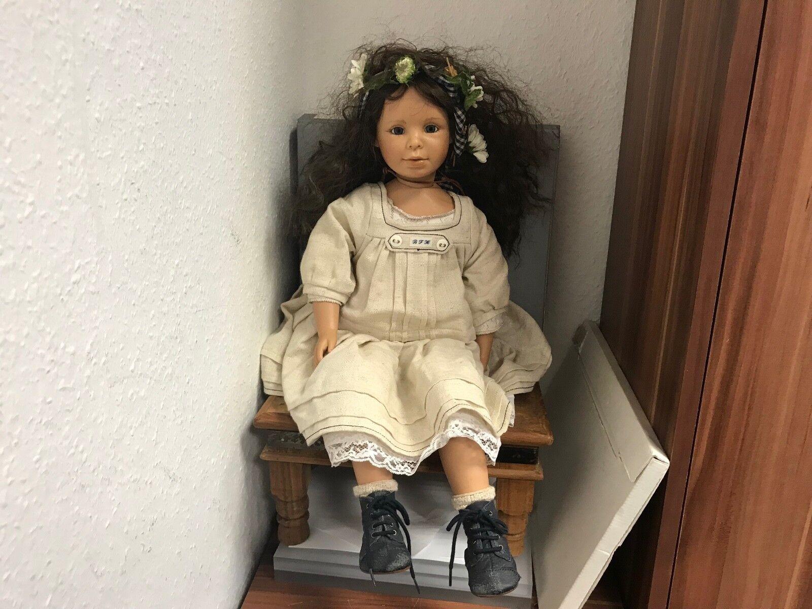 Bettina feigenspan Hirsch muñeca de vinilo 63 cm. top estado.
