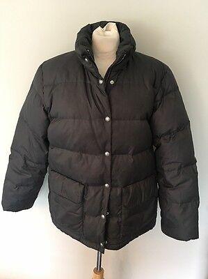 Bogner Fire + Ice Ski Jacket Duck Down Puffer Parka Coat Size M Ladies 38 Gray