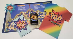 Details about Disney WDW Pop Century Resort Cast Grand Opening Spinner Pin,  Mousepad & Map Set
