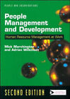 People Management and Development by Mick Marchington, Adrian Wilkinson (Paperback, 2002)