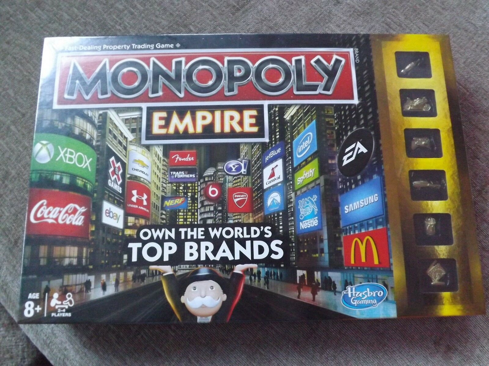 Monopoly Empire Board Game Brand New Sealed original version 2013 2013 2013 propre Top Marques 23a71d
